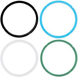 Pack of 4 Silicone Sealing Rings for Instant Pot Pressure Co