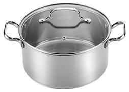 T-fal Performa 5-qt. Stainless Steel Round Dutch Oven