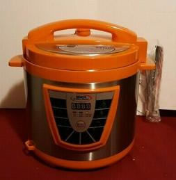 Power Pressure Cooker XL Plus Orange PPC780 Cheer Intertek