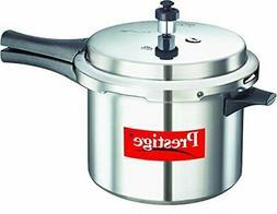 Prestige PPAPC5 Popular Pressure Cooker, 5 L, Silver