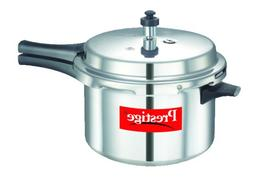 Prestige Popular Aluminum Pressure Cooker, 5.5-Liter