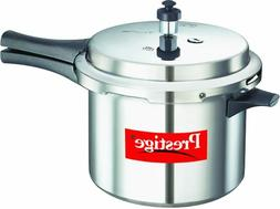 Prestige Popular Virgin Aluminium Pressure Cooker, 5 L, Silv