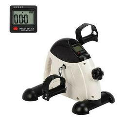 Portable Mini Exercise Bike Hands Feet Trainer Foot Pedal w/
