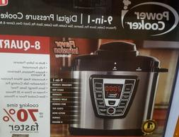 Power Pressure 9 In 1 Cooker 8 QT Electric Instapot As Seen