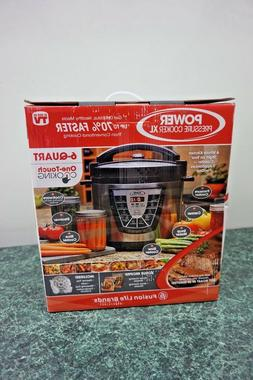 POWER PRESSURE COOKER XL 6 QT FUSION LIFE BRANDS 7 APPLIANCE