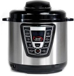 Power Pressure Cooker Extra Large 10 Quarts - As Seen On TV