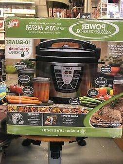 Power Pressure Cooker XL 10-Qt. One Touch Cooking