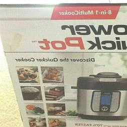 Power Quick Instant Pot 6Qt 8-In-1 Pressure Cooker Home Cook