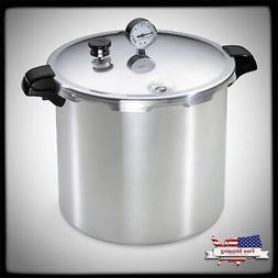 Pressure Canner & Cooker 23-Qt Home Kitchen Aluminum Pre