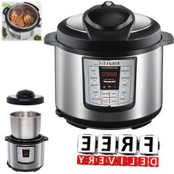 Instant Pot Pressure Cooker 6 in 1 Programmable 5 Quart Elec