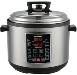 Pressure Cooker 12-Presets 14 Qt. Electric Slow Pot Rice Mea