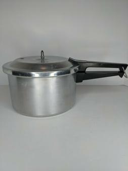 Mirro Pressure Cooker 4 QT M-0404 Aluminum Canner Read