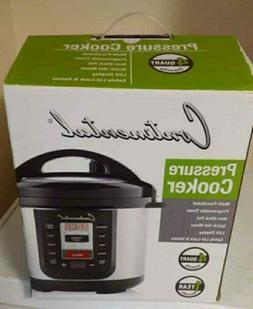 Continental Pressure Cooker 4 Quart Multi-functional Nonstic