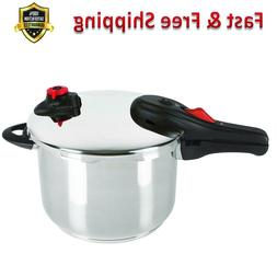 Pressure Cooker 6.5 Quart Silver Stainless Steel Induction R