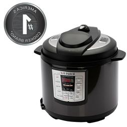 INSTANT POT Pressure Cooker 6 QT Stainless Steel Slow Cooker