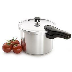 Presto Pressure Cooker 6-Quart Heavy-Gauge Aluminum with Hel