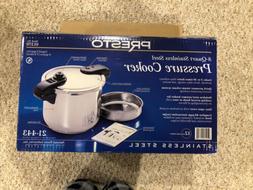 Pressure Cooker Presto 8 Quart Stainless Model 01370