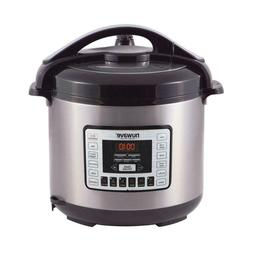 NuWave Nutri-Pot 8 Quart Digital Pressure Cooker,gray/black,