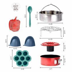 Pressure Cooker Accessories Set - Steamer Basket 6 8 quarts,