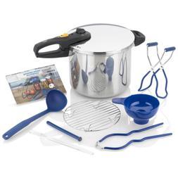 Pressure Cooker Canning Set Canned Food Kit 10 qt. Canner Po