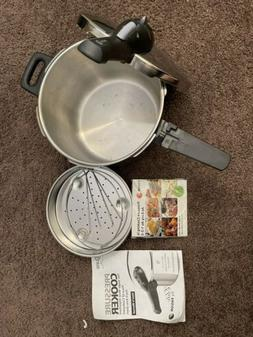 Fagor Pressure Cooker -Elite by Fagor 85M7 w/ Manual And Ste