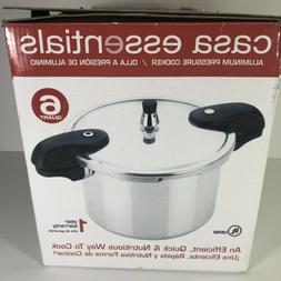 Pressure Cooker Bene Casa Essentials 6 Quart Aluminum Open B