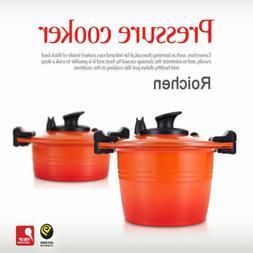 ROICHEN Pressure Cooker Nonstick Casserole Pot Smart Control