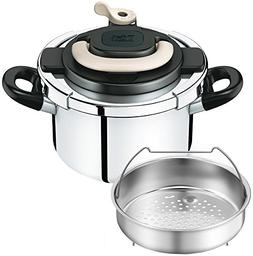 """T-fal pressure cooker """"Kuripuso arch"""" one-touch opening and"""