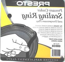 Presto Pressure Cooker Sealing Ring Gasket, 09936