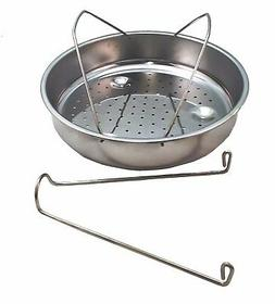 Presto Pressure Cooker Stainless Steel Basket w/Trivet, 8565