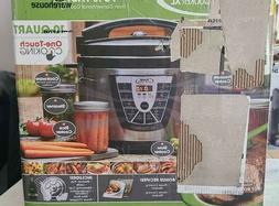 Power Pressure Cooker XL Pressure Cooker, 10 Quart, Stainles