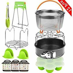 Pressure Cookers Aiduy 12 Pieces Accessories Set Compatible