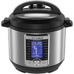 Pressure Slow Cooker Instant Pot 6Qt 10-in-1 Multi-Use Progr