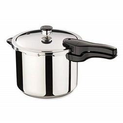 Presto 01362 6 Quart Stainless Steel Pressure Cooker Small K