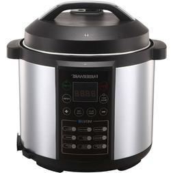 Programmable Electric Pressure Cooker 8 Quart Instant Cookin