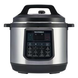 Programmable Electric Pressure Cooker Instant Cooking Large