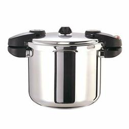 Buffalo QCP408 8-Quart Stainless Steel Pressure Cooker
