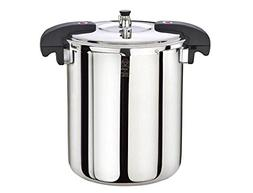Buffalo QCP420 21-Quart Stainless Steel Pressure Cooker