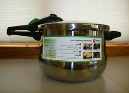 FAGOR RAPID EXPRESS 6 QT. PRESSURE COOKER~Stainless Steel St