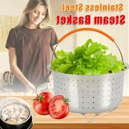 Rice Pressure Cooker Stainless Steel Steam Basket Cookware A