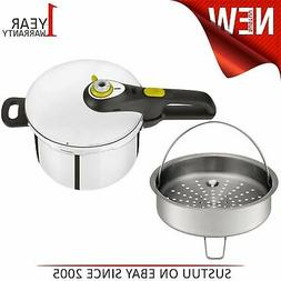 Tefal Secure 5 Neo Stainless Steel Pressure Cooker│6 L│I