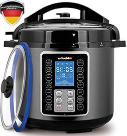 Mueller UltraPot 6Q Pressure Cooker Instant Crock 10 in 1 Po