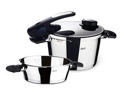 Fissler, Set of Pressure cookers vitavit Edition with Closur