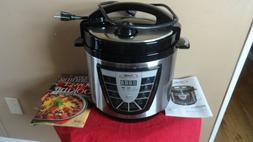 Power Pressure Slow Cooker XL Pot Canning Steamer Quart Croc
