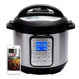 Instant Pot Smart WiFi 6 Quart Electric Pressure Cooker, Sil