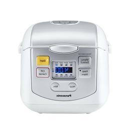 Panasonic SR-ZC075W Cooker - 2 quart - White, Silver