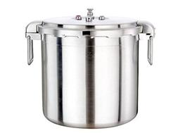 Buffalo QCP430 32-Quart Stainless Steel Pressure Cooker