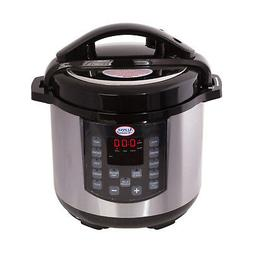 Stainless Steel Digital Electric 6 Qt. Rice Pressure Cooker