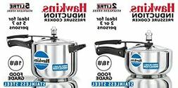 Hawkins Stainless Steel Pressure Cooker 2 & 5 litres, Set of
