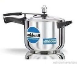 Hawkins Stainless Steel Pressure Cooker 2 Ltr. Induction Bas
